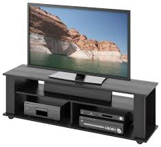 CorLiving  Bakersfield TV Stand For Most FlatPanel TVs Up To 65 Black 65 Inch Tv Stand E91