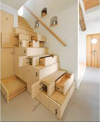 A Well Organized Staircase, perfect for a tiny house ...