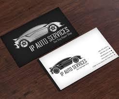 A5 A4 Set Service Car Business Card Templates Auto Repair Leaf