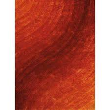 finesse allure burnt orange 5 ft 3 in x 7 area rug rugs home depot n indoor outdoor medallion cream orange area rug 5x8