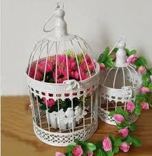 metal bird cage for garden decoration