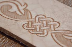 celtic leather belts embossing stamp for vegtan tooling leathercraft diy presser pattern flower mold on