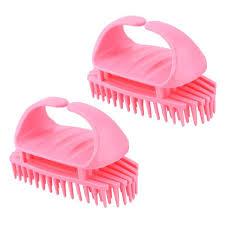 silicone shoo hair brush mage