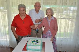 HAPPY BIRTHDAY: Gattons Meals on Wheels client Priscilla Lynch and ... |  Buy Photos Online | Sunshine Coast Daily