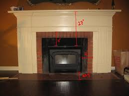 fireplace heat reflector insert