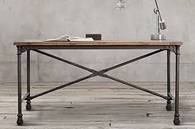 industrial style office desk. Flatiron Desk From Restoration Hardware Industrial Style Office