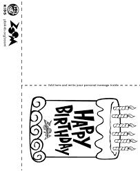 black and white printable birthday cards kids birthday cards to print under fontanacountryinn com