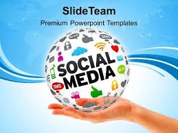 Ppt Free Theme Social Media Presentation Template Download Powerpoint Themes Social