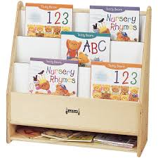 Wooden Book Stand For Display Preschool Book Displays Child Care Book Shelves Daycare Book 65