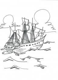 Zeilschip Kleurplaten