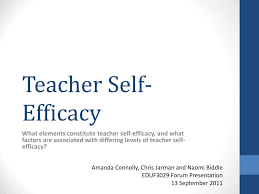 Teacher Powerpoint Ppt Teacher Self Efficacy Powerpoint Presentation Id 4036230