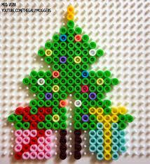 Meg Vera Perler Beads 3D Christmas Tree Pattern And Rudolph The Perler Beads Christmas Tree