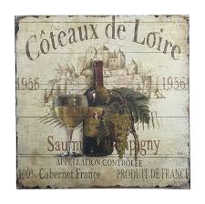 french wine label sign cabarnet wall decor 15 5 square on french wine label wall art with buy french wine label sign with green grapes wall decor 15 5 square
