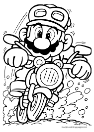 Super Mario Bros 214 Video Games Printable Coloring Pages