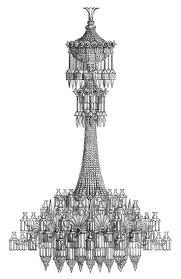 chandelier ilration