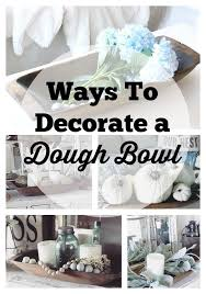 Decorating With Dough Bowls