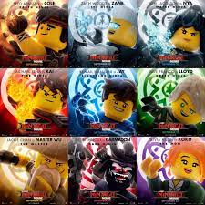 The LEGO Ninjago Movie - character posters   Read more about…