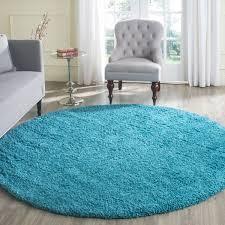turquoise rug round