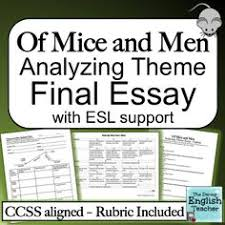 of mice and men john steinbeck character analysis tri folds of mice and men analyzing theme essay