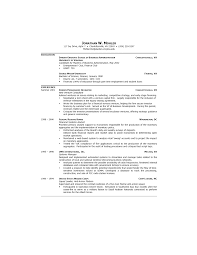 Samples Of Simple Resumes Manager Resume Samples Free First Job