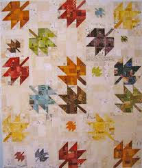 166 best Quilts - Maple Leaf images on Pinterest | Carpets, Crafts ... & scrappy modern maple quilt Adamdwight.com