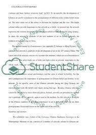 cultural event report essay example topics and well written cultural event report essay example