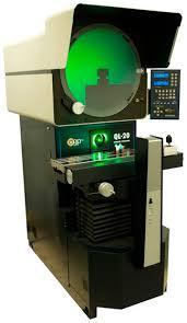 horizontal optical comparator. optical comparator - 20\ horizontal