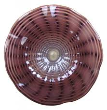 frequently bought together 23 hand blown art glass table platter plate bowl
