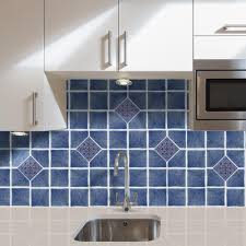 nexus wall tiles vinyl 4 in x 4 in blue self sticking wall decorative wall tile 27 tiles per box wtv106nx10 the home depot