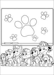 Kids N Fun Maak Persoonlijke Kleurplaat Van Paw Patrol Kleurplaat