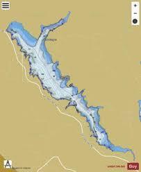 San Pablo Reservoir Fishing Map