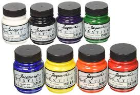 best overall jacquard textile color fabric paint set of 8