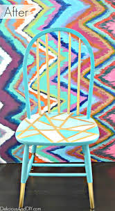 painting designs on furniture. Gorgeous Metallic Mod Chair Paint Scheme Painting Designs On Furniture R