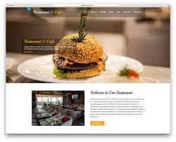 Wp Restaurant Themes 25 Free Restaurant Wordpress Themes 2019 Colorlib