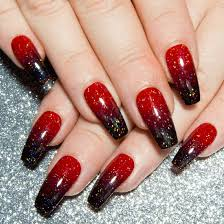 40 Stunning Red Black Nail Designs Youll Love To Try