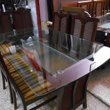 glass top dining table for sale in islamabad. dining table glass top for sale in islamabad o