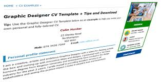 Cv Writing Examples Personal Profile Good Cv Examples Templates For 100 Jobs Cv Plaza