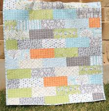 Baby Quilt Designs Baby Quilt Pattern Subway Tiles Fat Eighths By Sunnysidedesigns2