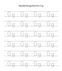 Letter Practicing A Z Uppercase Lowercase Letter Tracing Worksheets Playing