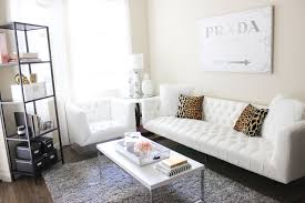 White Sofa Living Room Decorating Apartment Update 2015 Blondie In The City
