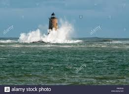 Whaleback Light Kittery Maine Whaleback Lighthouse Stock Photos Whaleback Lighthouse