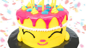 Shopkins Cake How To Make Shopkins Wishes Birthday Cake From