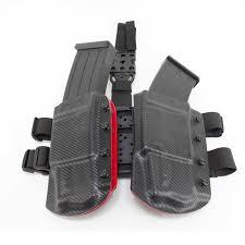 Handgun Magazine Holders MKA 100 Magazine Holder Drop Leg Rig Weber Tactical 54