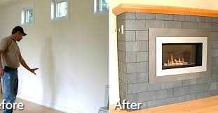 gas fireplace insert installation custom cost average installa best direct vent