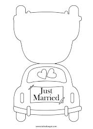 Biglietto Per Matrimonio Da Colorare Tuttodisegnicom