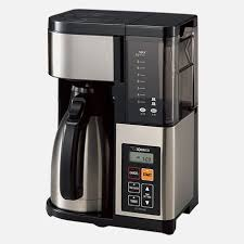 It operates with a simple on/off switch that lights up to let you know that the coffee maker is on. Coffee Makers Zojirushi Com