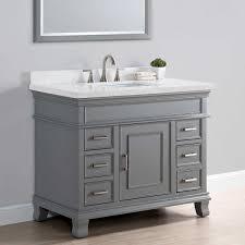42 inch bathroom vanity. Grey 42 Inch Bathroom Vanity W