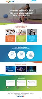 Children S Author Website Design Elegant Playful Entertainment Web Design For Action
