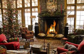 Living Room Christmas Decorating Country Christmas Decorating Ideas Home Country Christmas