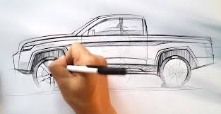 How to Draw a Pickup Truck - autoevolution